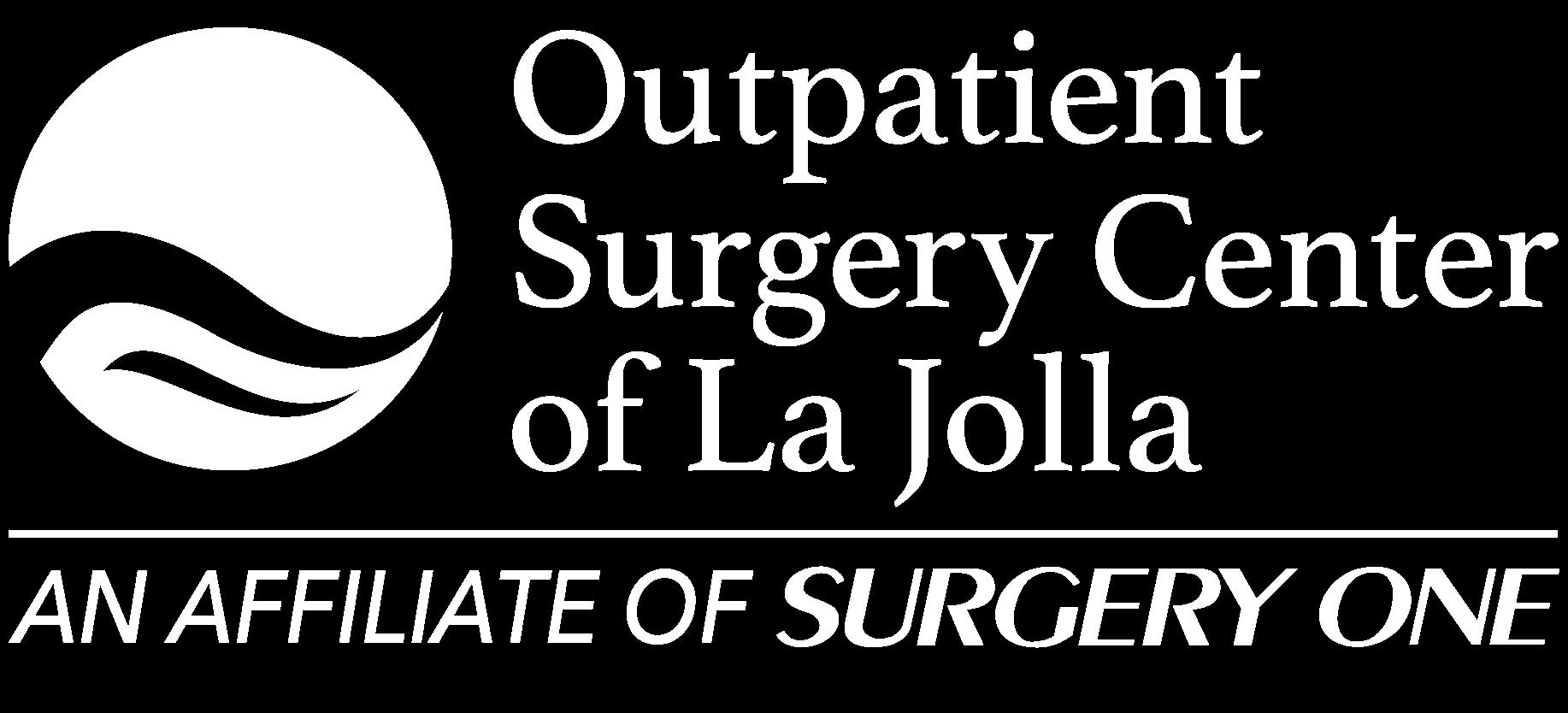 Outpatient Surgery Center of La Jolla logo white transparent