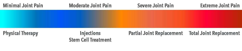 Pain spectrum for Achieve Joint Success